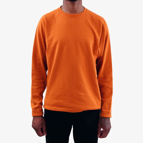 Norse Projects Vorm Mercerised Sweatshirt Ochre orange