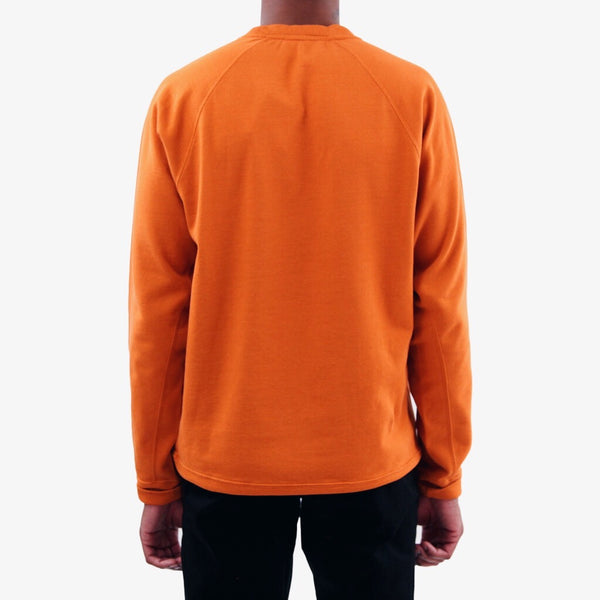 Vorm Mercerised Sweatshirt - Ochre