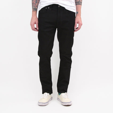 Nudie Jeans Co Lean Dean Dry Denim Cold Black