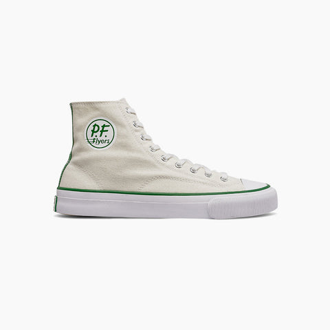 PF Flyers All American Hi white sneakers