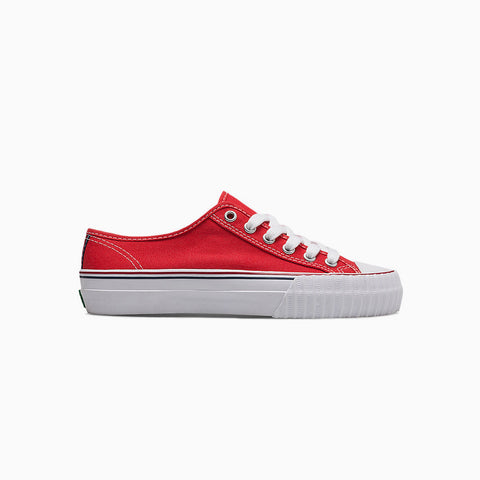 PF Flyers Center Lo top shoes red