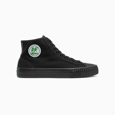 PF Flyers Sandlot black hi top shoes