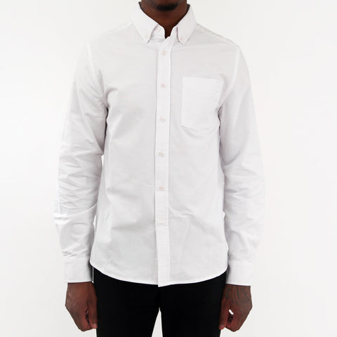 Crosby Oxford Shirt - White