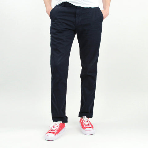 Slim Twill Trouser - Navy