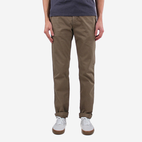 Save Khaki Slim Twill Trouser Dust Khaki