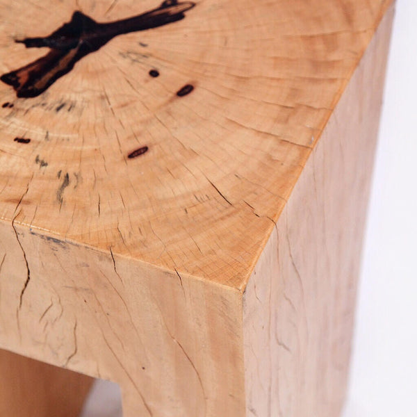 Solid Medullary Ray Oak Table