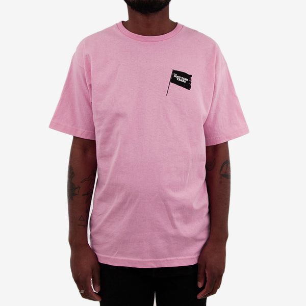 Black Flag T-Shirt - Pink