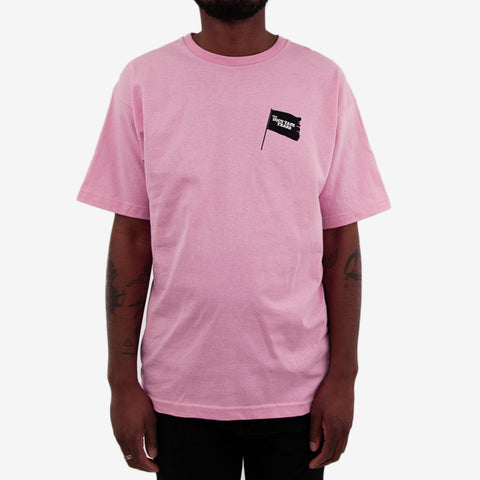 The Duct Tape Years Black Flag Tee Shirt Pink