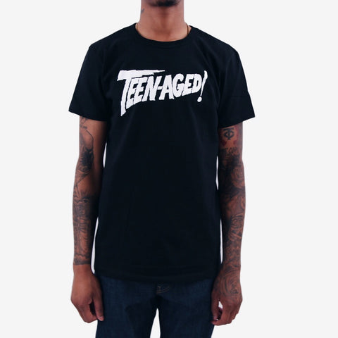 Thee Teen-Aged Terror graphic tee black