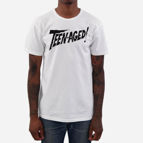 Thee Teen-Aged Terror graphic tee white