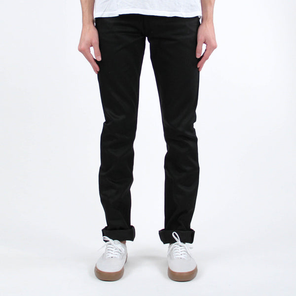 Slight Raw Denim - Black