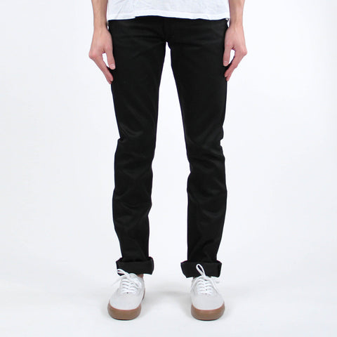 United Stock Dry Goods Slight Raw Denim Black
