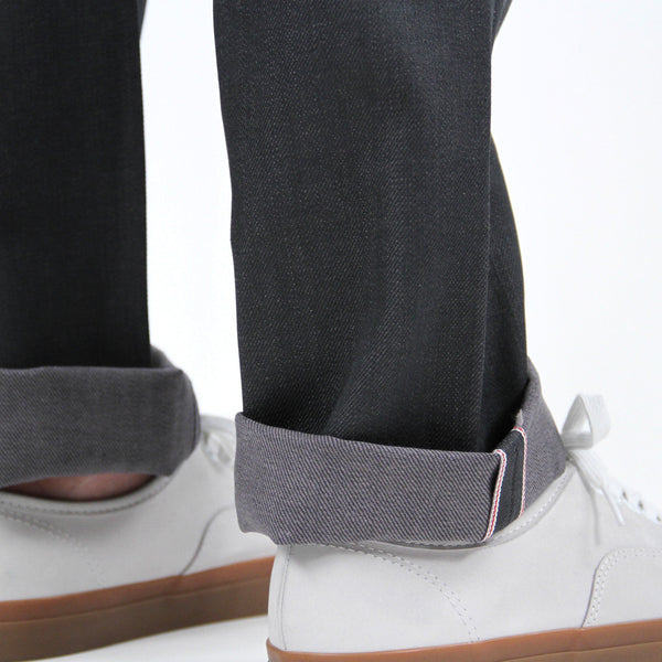 Narrow Raw Denim - Gray Selvage