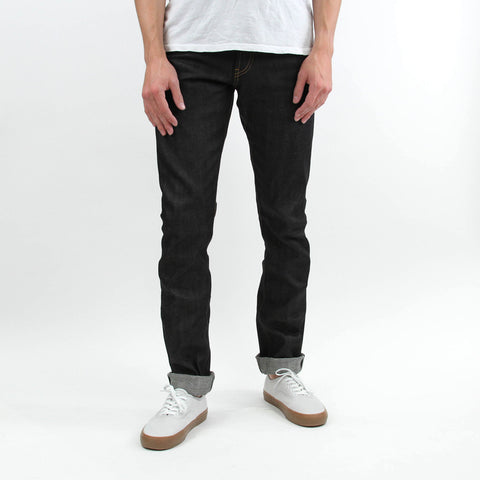 united stock dry goods slight raw denim selvage indigo