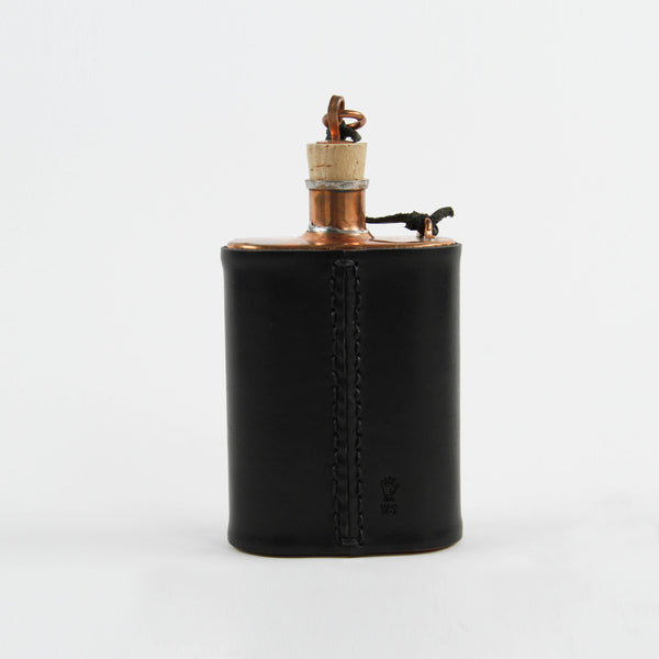 Winter Session x Jacob Bromwell Covered Flask w/ Glass