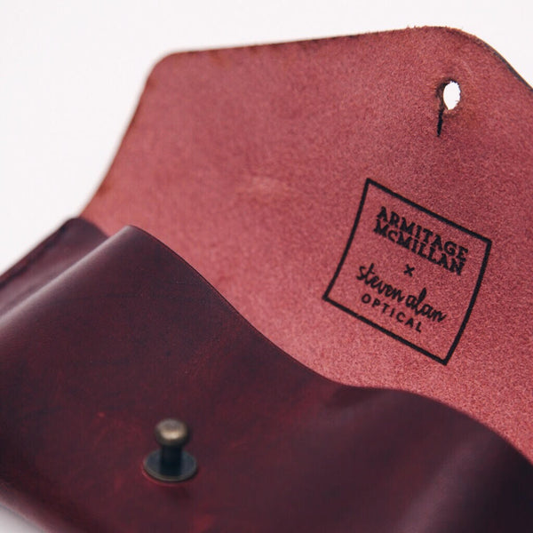 SAO x A&Mc Custom Eyeglass Case - Burgundy