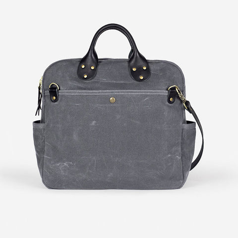 Winter Session Day Bag Grey Black