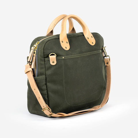 Winter Session Day Bag Olive Natural