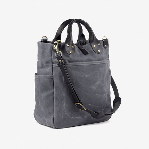 Winter Session Garrison Bag Gray Black