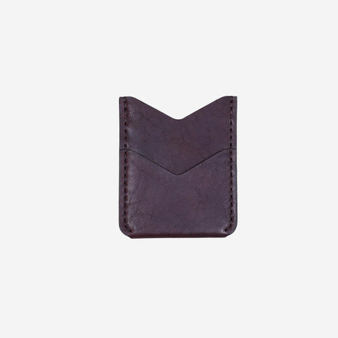 Winter Session Slash Wallet Burgundy