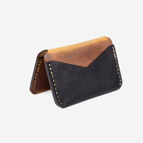 Winter Session Triple Wallet Tobacco Black