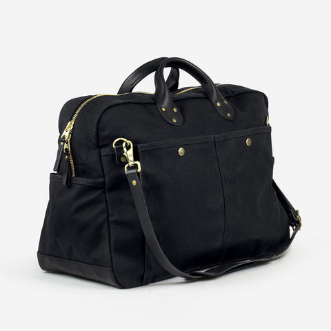 winter session weekender bag black