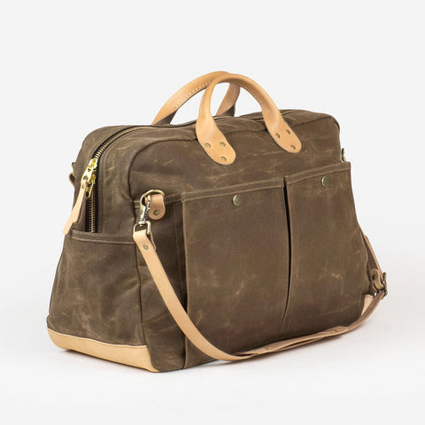 Winter Session Weekender Bag Field Tan