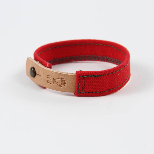 WS x A&Mc Cuff - Red