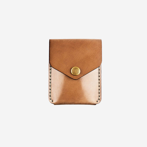 Winter Session Coin Wallet Whiskey Cordovan