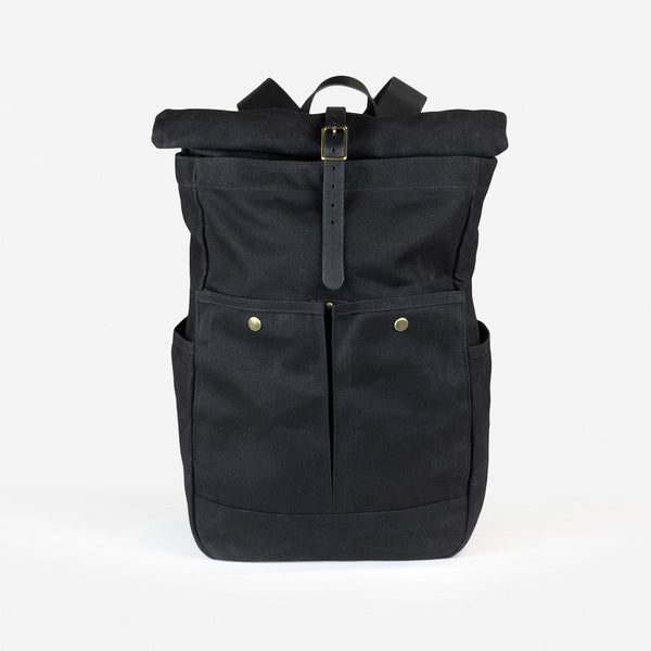 Roll-top Pack - Black