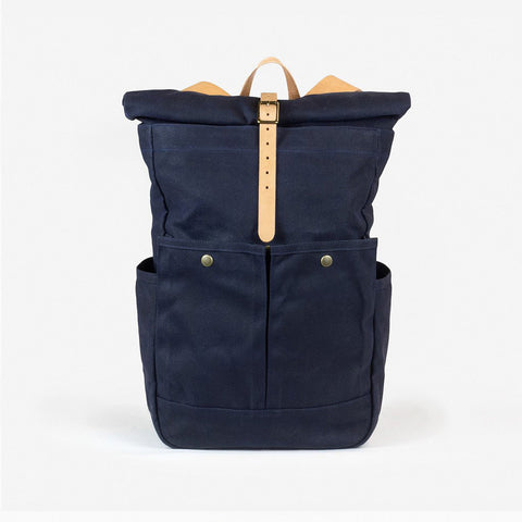 Roll-top Pack - Navy
