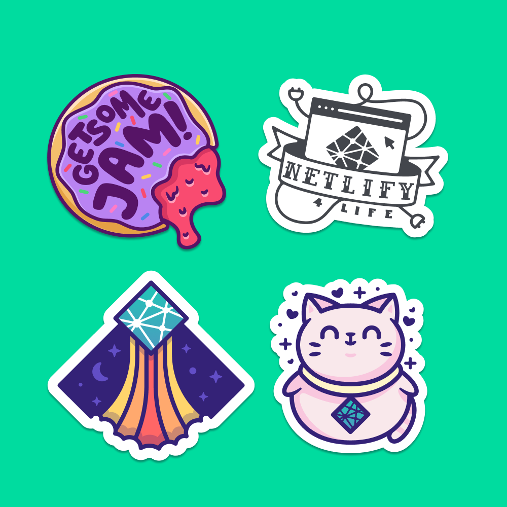 Netlify Sticker Packs