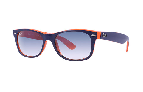 Ray-Ban Sunglasses - New Wayfarer Color Mix - Light Blue Gradient - Model RB2132 - New