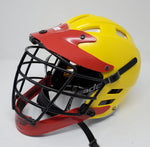 Cascade CLH2 Lacrosse Helmet - Red/Yellow - Size S/M - New