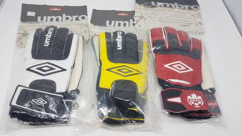 Soccer Umbro Gloves - Men's - New
