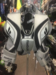 Reebok 6K Ice Hockey Goalie Chest Protector - Grey/Black - Junior Size L - Used - Good