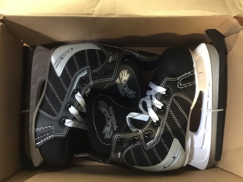 Tour TR 700 Hockey Skates - Black/White - Junior - New
