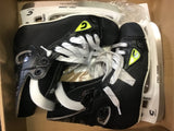 Graf Supra 705 Hockey Skates - Black/Volt - Size 2.5 Junior - New