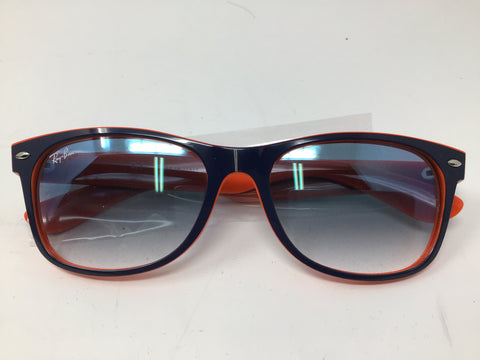 Ray-Ban Wayfarer RB2132 New Colour Mix - Light Blue Gradient Lenses - New