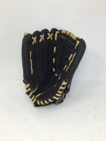 "Rawlings RSB 130C Softball Glove 12"" - Black/Beige - Right Hand Catch - New"