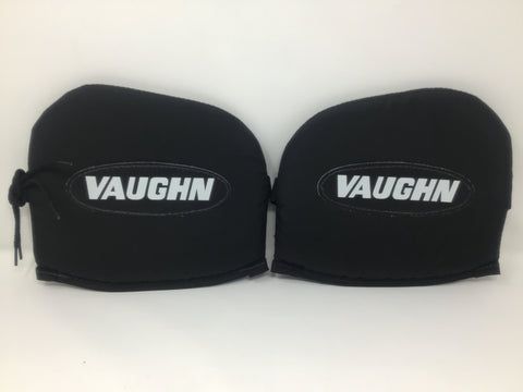 Vaughn VKP7000 Ice Hockey Thigh Boards - Black/White - Senior Size - New