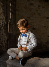 Load image into Gallery viewer, Kids Le Bleu Bow Tie