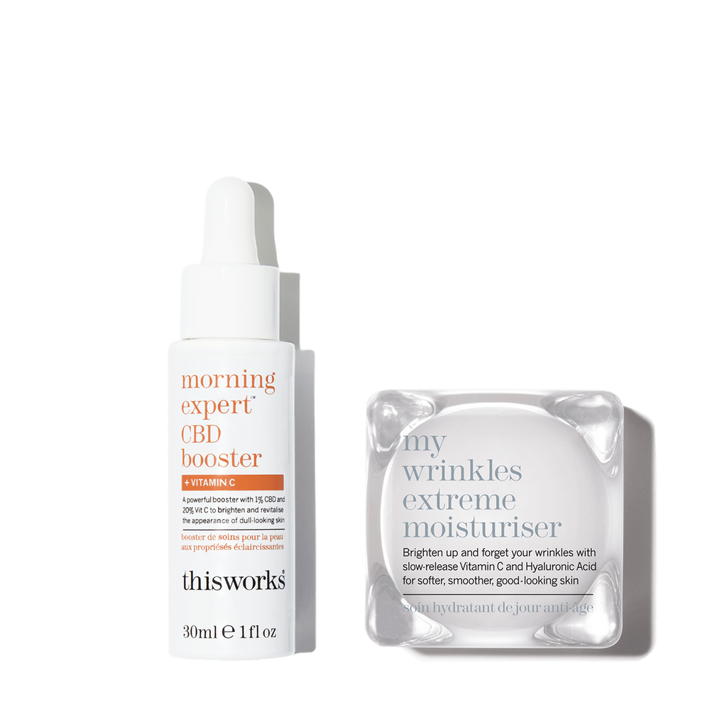 brighten & hydrate CBD kit
