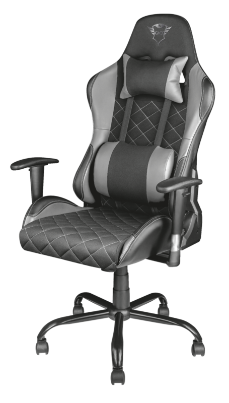 Display | GXT 707G Resto Gaming Chair | Grey