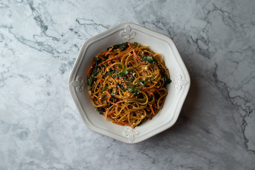 SWEET & SPICY NOODLES