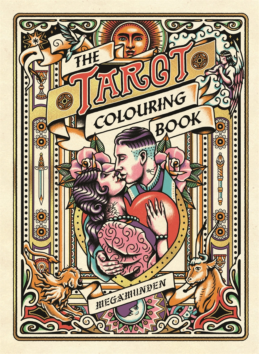 Tarot Colouring Book
