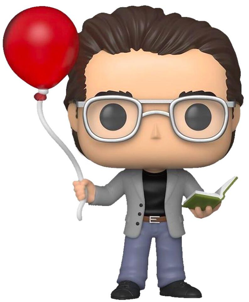 Stephen King | Stephen King with Red Balloon Pop! Vinyl Figure