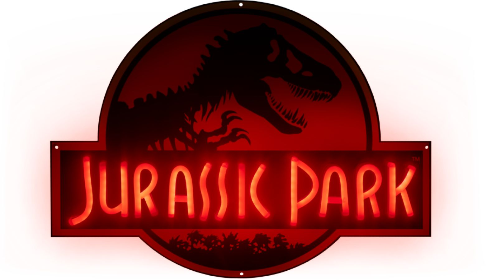 Jurassic Park - Logo Light-Up Neon Logo Sign