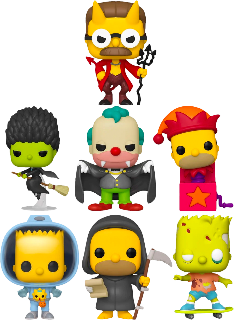 Simpsons Treehouse of Horror Pop Vinyl Bundle