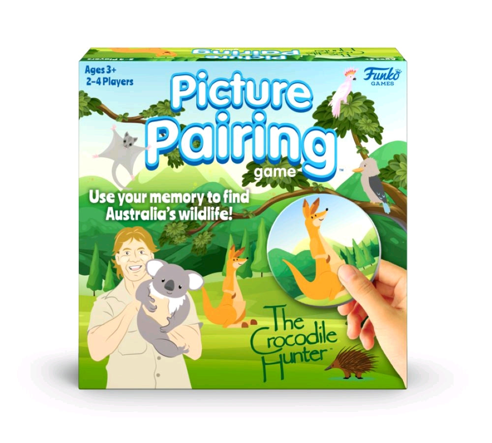 The Crocodile Hunter - Picture Pairing Board Game